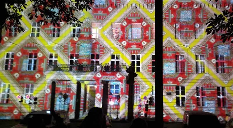 """Humboldt-Universität im """"Festival of Lights"""" 2017"""